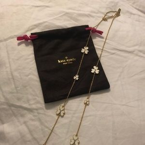 Brand new Kate spade flower necklace